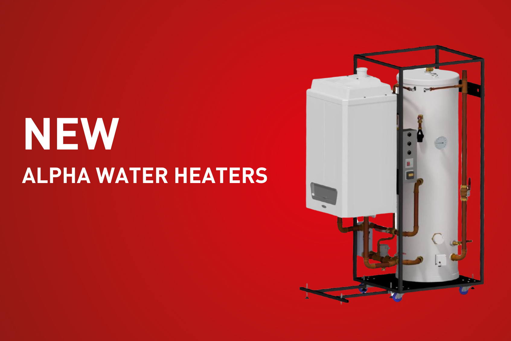 New product: Alpha water heaters